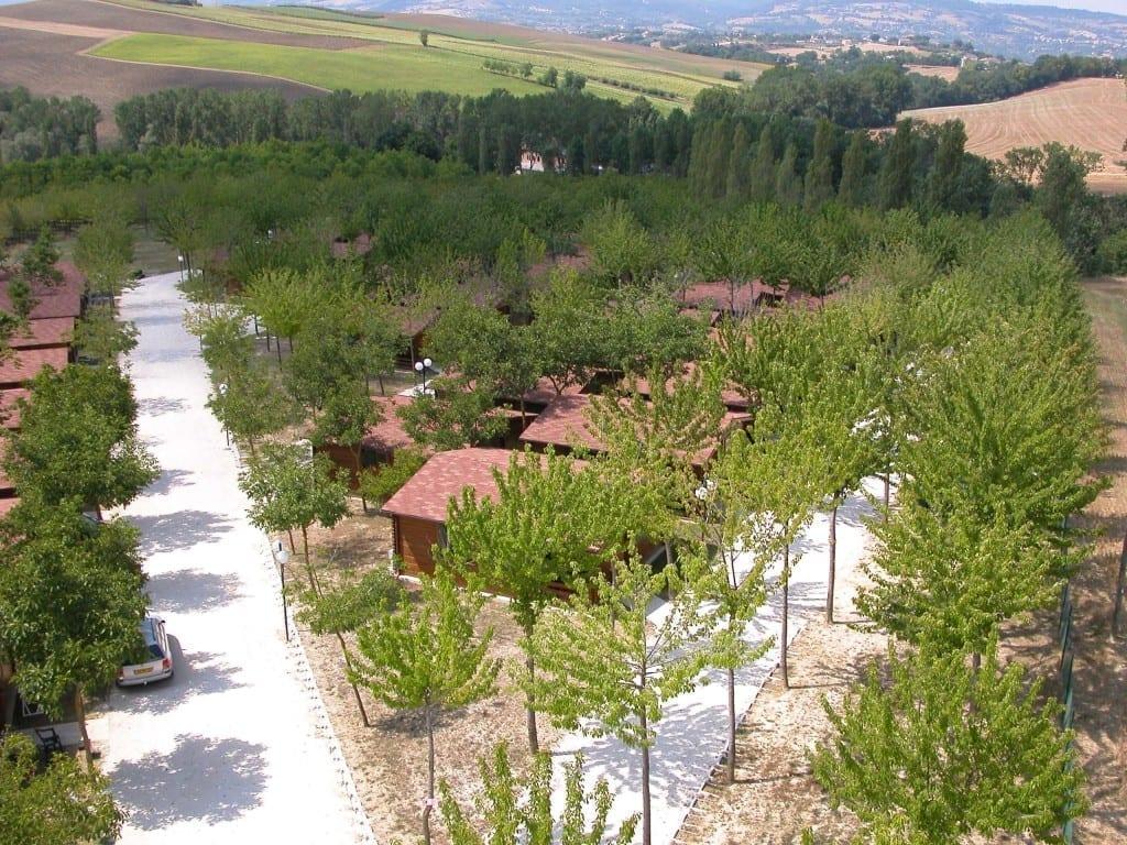 villaggio legno