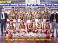 Campionato '68-69: la Trattoria 5 ocarine è il nuovo sponsor