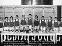 Campionato 70-71, terza vittoria consecutiva del Budrio