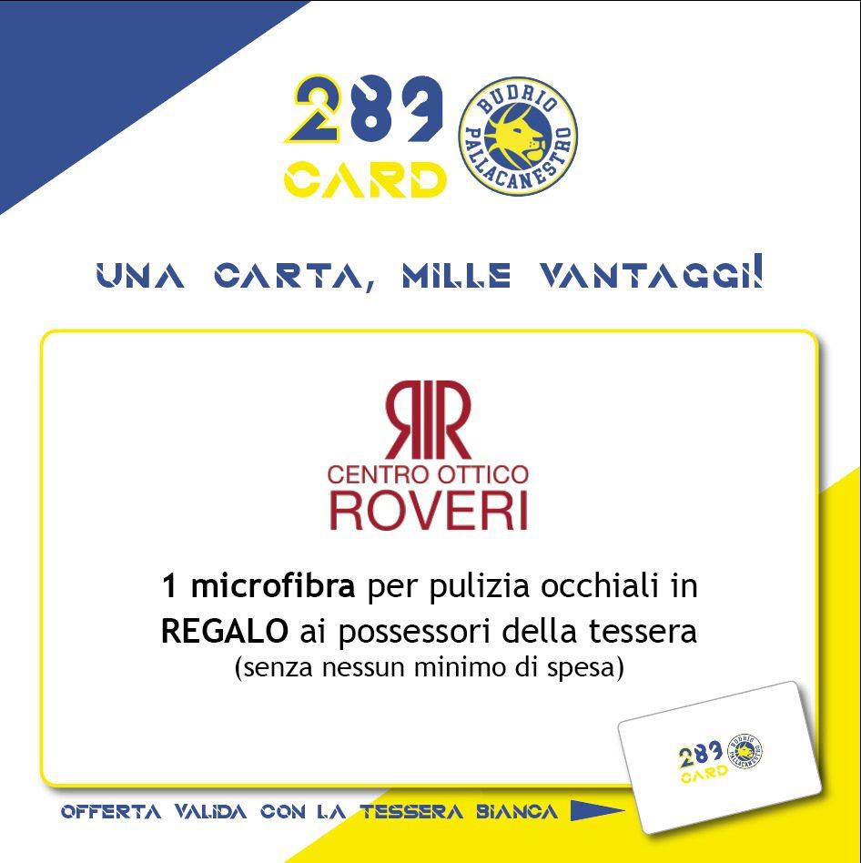 Centro Ottico Roveri riserva una sorpresa ai possessori della 289Card !